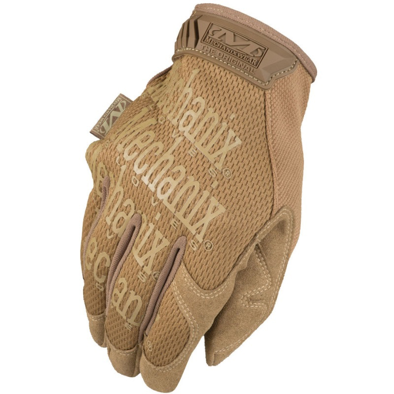 Mechanix Original Coyote Mens Gloves Tan All Sizes