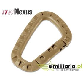 ITW Nexus Karabinek Tac Link - Tan