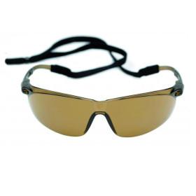 Okulary Ochronne 3M Tora - Brązowe