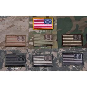 Naszywka Mil-Spec Monkey - Flaga US Odwrócona