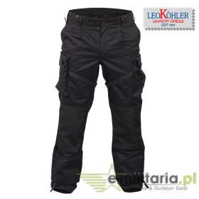Spodnie Leo Köhler KSK Combat Pants - Czarne