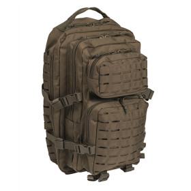 Plecak Mil-Tec Large Assault Pack Laser Cut - Oliwkowy