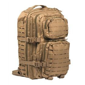 Plecak Mil-Tec Large Assault Pack Laser Cut - Coyote