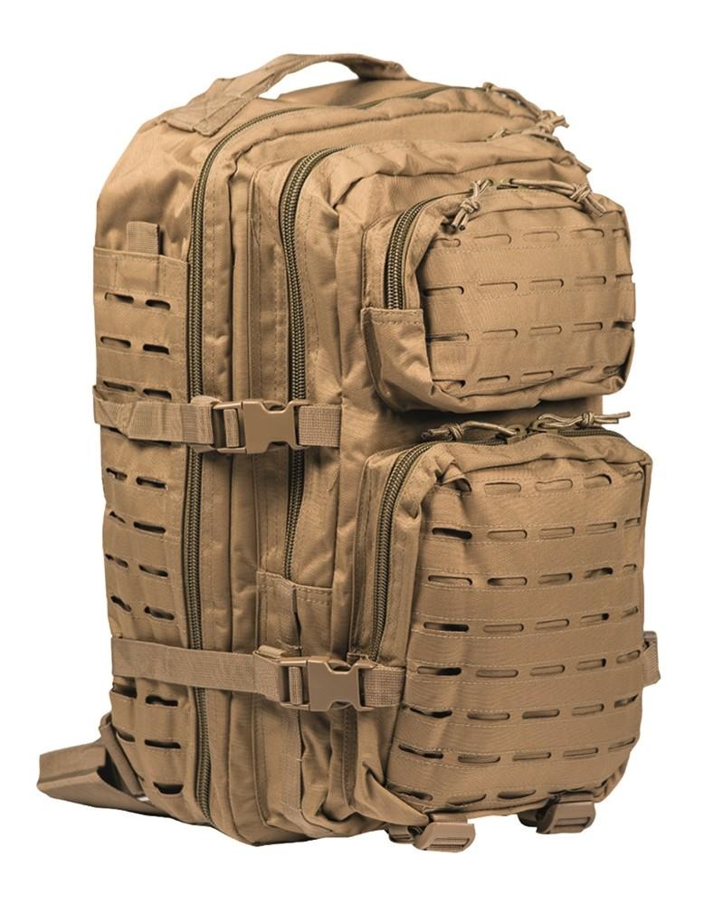 5e7347363000d Plecak Mil-Tec Large Assault Pack Laser Cut - Coyote - e-militaria.pl