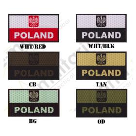 Naszywka IR/IFF Combat-ID Gen. 1 - Flaga Polska A1