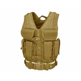 Kamizelka Taktyczna Condor Elite Tactical Vest - Tan (ETV-003)