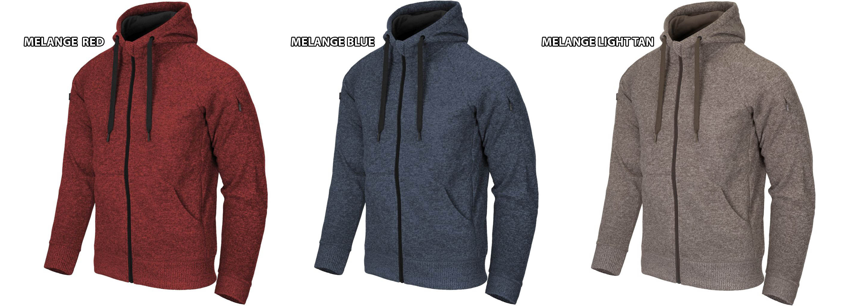 Helikon Covert Tactical Hoodie colors.jp