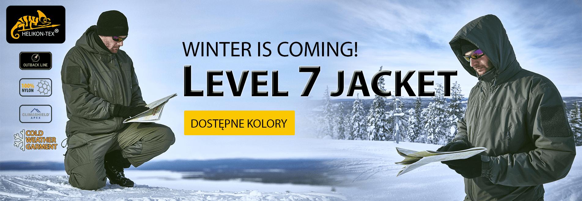 Kurtki zimowe Helikon Level 7 Climashield Jacket